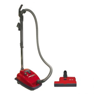 SEBO AIRBELT K3 Canister Vacuum Cleaner with Power Head Red