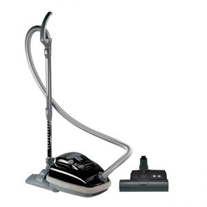 SEBO AIRBELT K3 Canister Vacuum Cleaner with Power Head Onyx