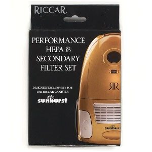 Riccar HEPA and Secondary Filters for Sunburst