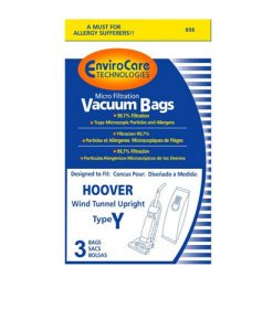 PAPER BAG, HOOVER TYPE Y MICRO W/CLOSURE ENVIROCARE 3PK