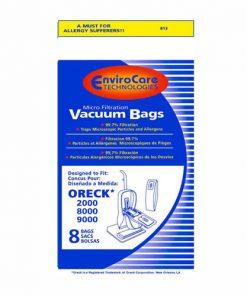 Oreck XL Upright Vacuum Bags (8 Pack)