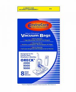 Oreck XL Upright Vacuum Bags (8 Pack)