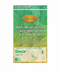 Oreck CC Allergen Cloth Upright Vacuum Bags (8 Pack)