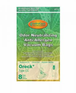 Oreck CC Allergen Cloth Upright Vacuum Bags (8 Pack)