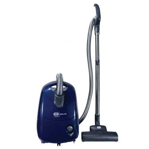 Sebo Airbelt E2 Canister Vacuum Cleaner Blue Turbo Vacuum