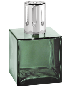 Lampe Berger Cube with green color