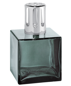 Lampe Berger Cube with onyx color