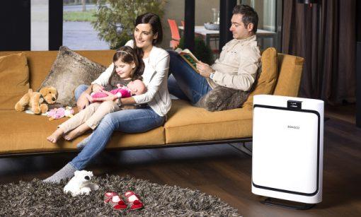 Boneco Air Purifier - Living Room